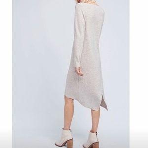 Anthropologie Moth Crossback Knit Sweater Dress L
